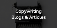 chachoo Services | Copy & Blog Writing