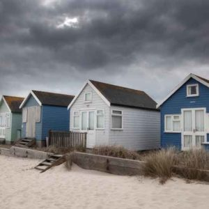 Beach Huts at Hengistbury HeadSM