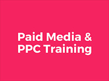 PPC, Paid Media & Google Adwords Training